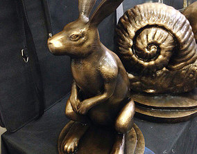 3D printable model Sculpture Hare Arseny Saint-Petersburg