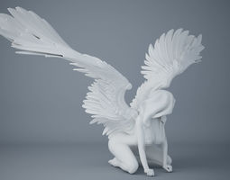 Sexy angel series 007 3D printable model