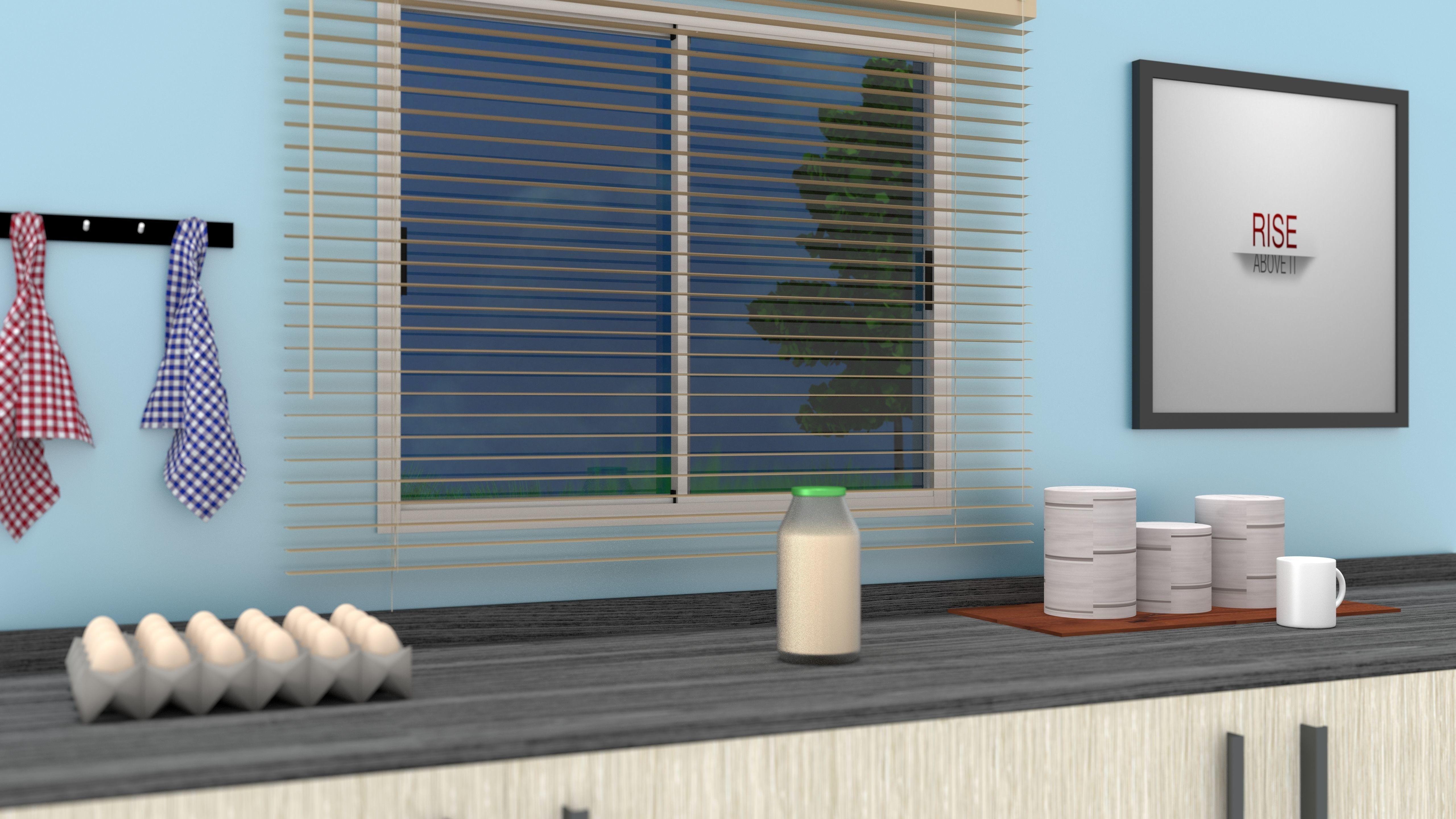 Kitchen Unit 3D model | CGTrader