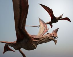 Flying creature 3D asset