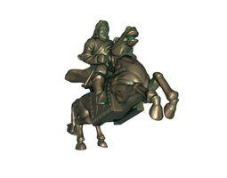 3D print model Genghis Khan
