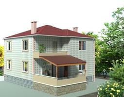 Architecturing Modern Villa House 3D
