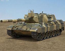 Leopard 1 3D