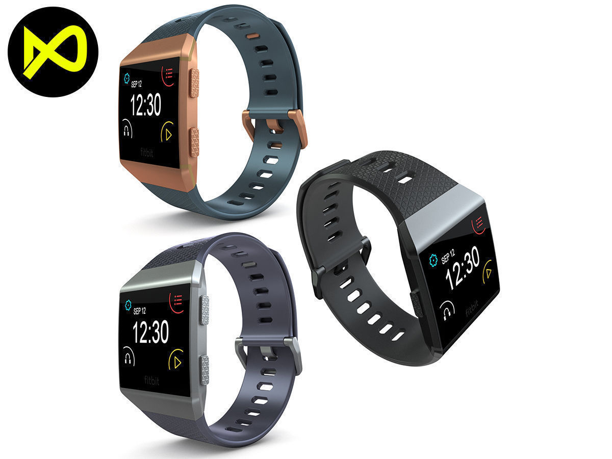 Fitbit Ionic All Colors