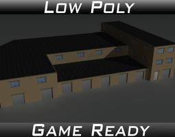 3D model Factory Building 35