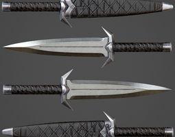 Assassin Knife PBR Game-Ready 3D model