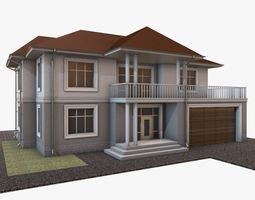 Building 003 3D model