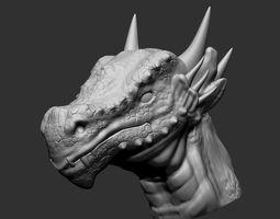 3D print model Dragon Head 2