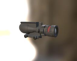 3D model VR / AR ready Trijicon ACOG 6x48-308 Sight