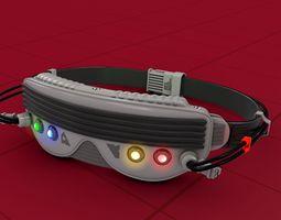 Cyber Punk Game Glasses 3D