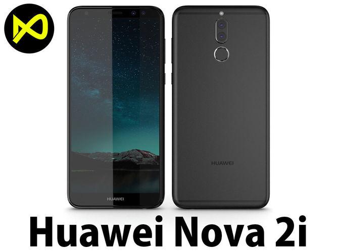 3d Huawei Nova 2i Black Cgtrader