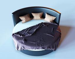furniture Bed for a bedroom 3D model