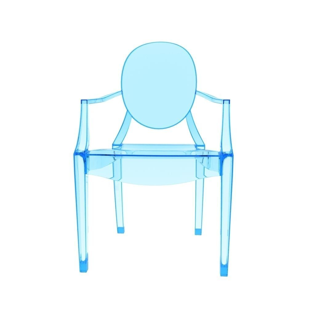 Kartell Louis Ghost Chair 3D model   CGTrader