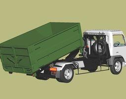 3D model Arm-roll Dump Truck