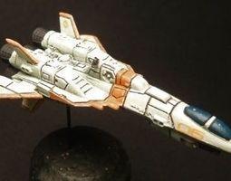 3D printable model Proteus Starfighter