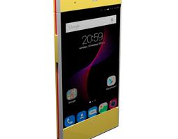 3D model ZTE Blade V7 Lite Gold