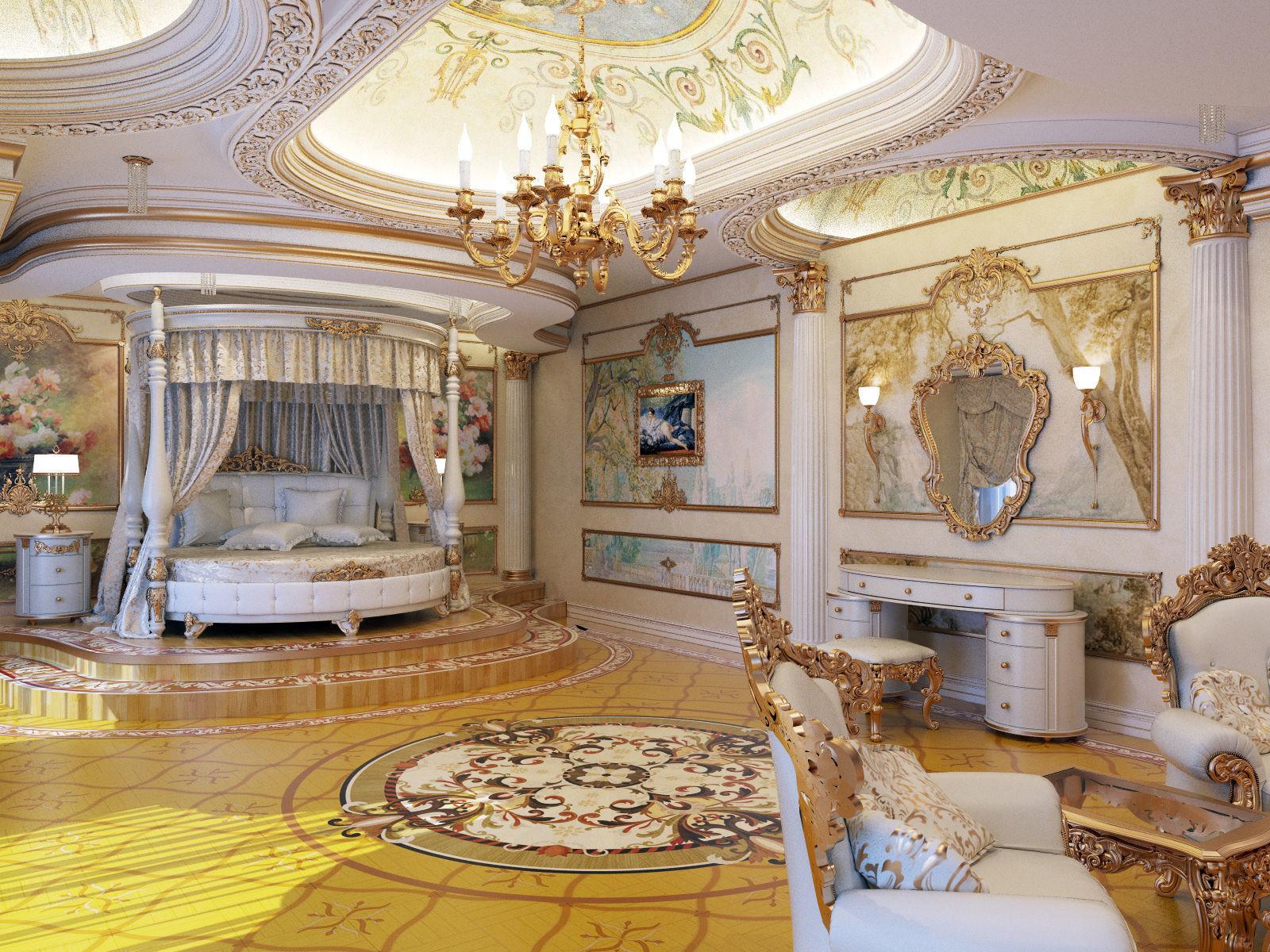interior master classical bedroom