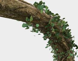 Fallen Log 3D model