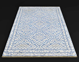 3D model Satara FG79 Silk carpet