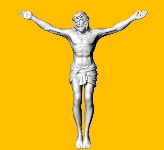 3D Printable Model JESUS Brooches