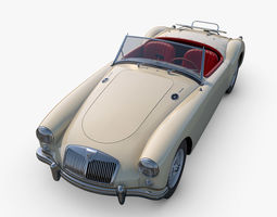 3D model MG MGA Twin-Cam