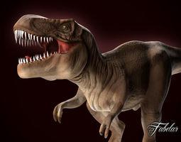 tyrannosaurus rex 3d model realtime