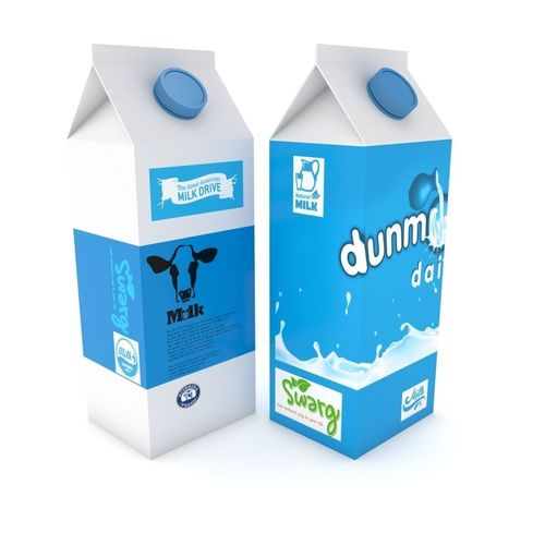 supermarket milk carton 3d model max obj mtl 3ds fbx c4d lwo lw lws 1