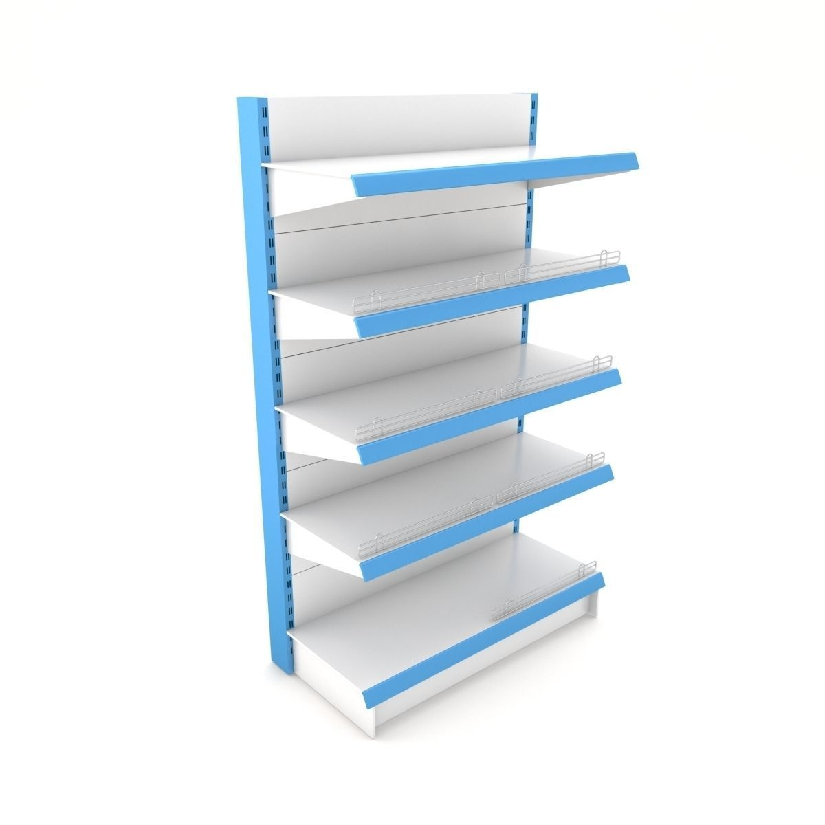 Supermarket Single Shelf Module