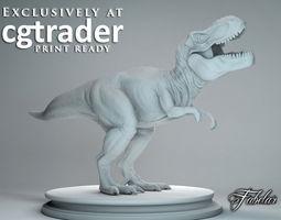 Tyrannosaurus Rex Print-ready 3D printable model