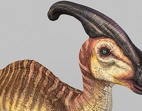 Parasaurolophus 3D asset
