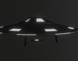 3D model Alien Flying Saucer