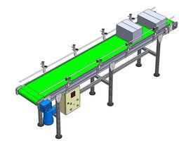 Conveyor x 3000mm Y 400 mm Z 900 mm 3D