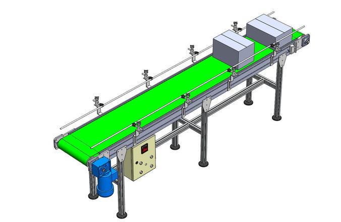 conveyor x 3000mm y 400 mm z 900 mm 3d model sldprt sldasm slddrw 1