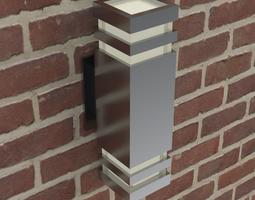 Modern wall light fixture 3D model
