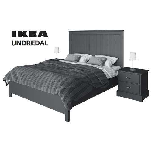 Set Ikea Undredal 3d Model Cgtrader