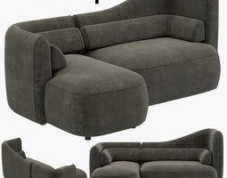 BoConcept Ottawa sofa 3D model