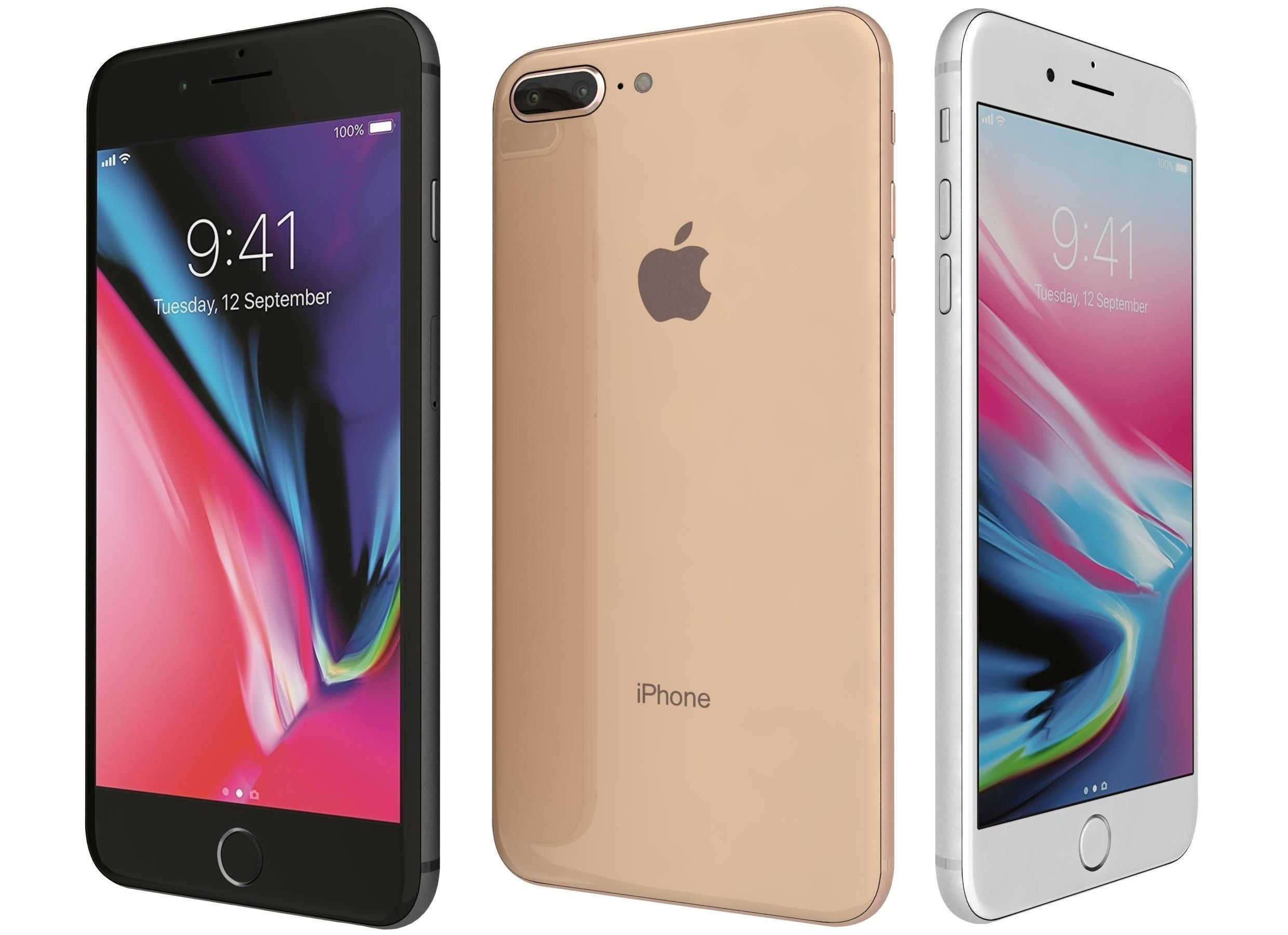 Apple iPhone 8 Plus All Colors