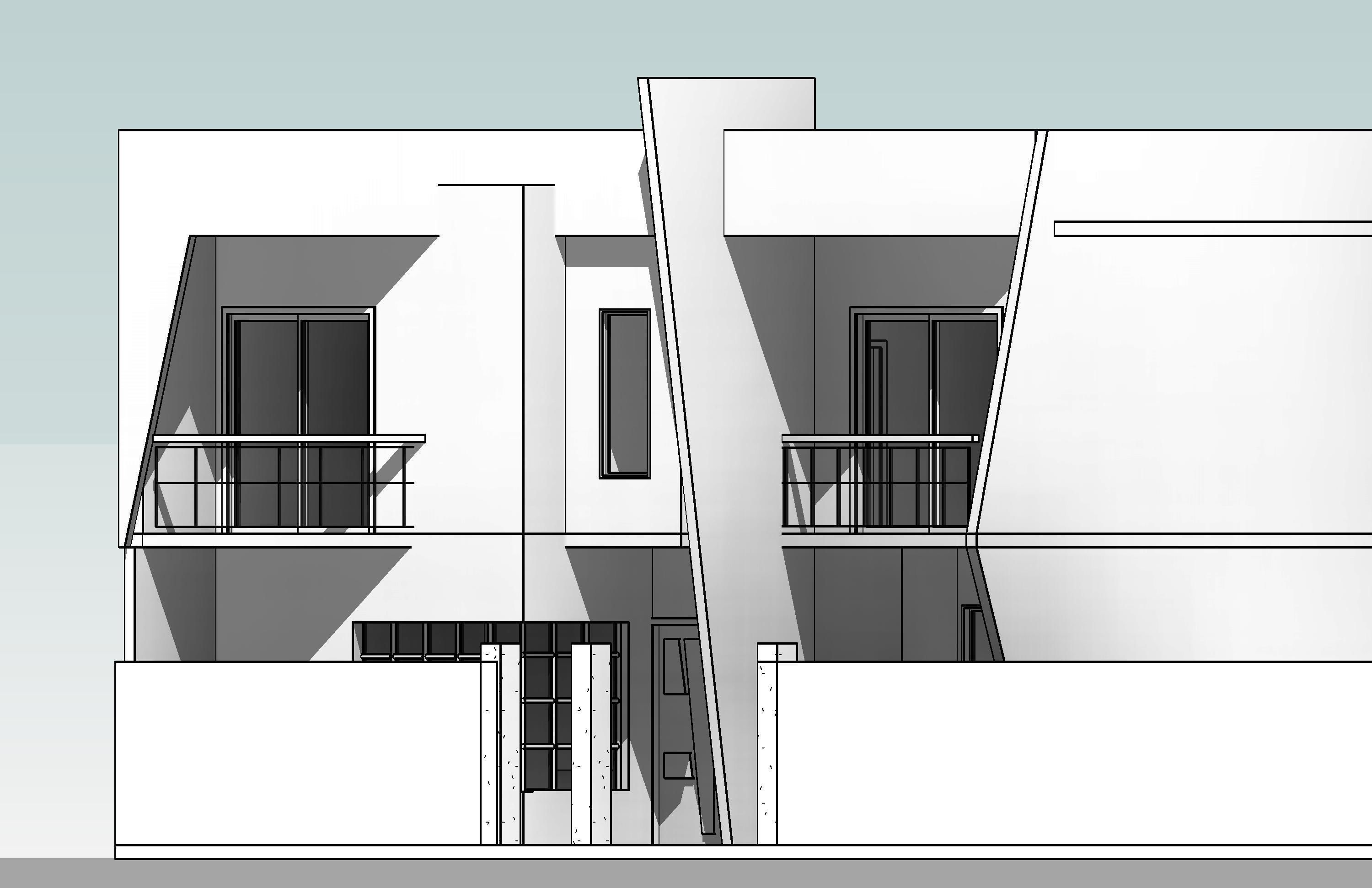 Modern House with plans 130 sq m