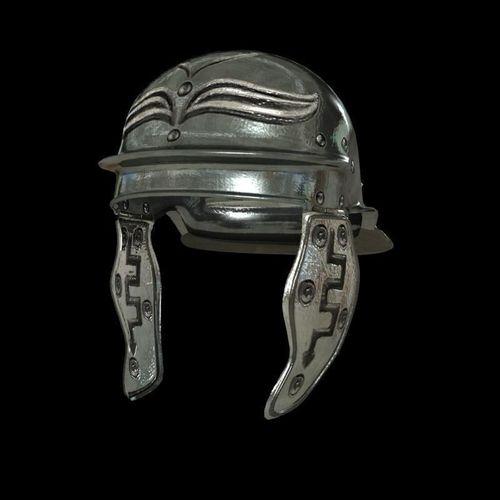 romans helmet 3d model max obj mtl fbx 1
