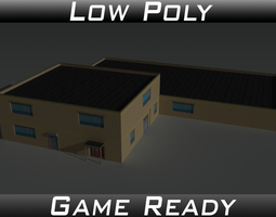 Factory Building 36 3D asset