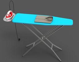 3D model VR / AR ready Ironing