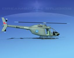 3D Bell OH-58B Taiwan Army