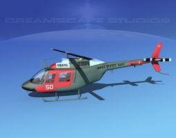 Bell OH-58B US Navy 2 3D model