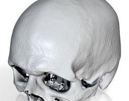 myskull 3D printable model