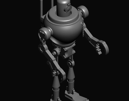 3D model game-ready models Robot