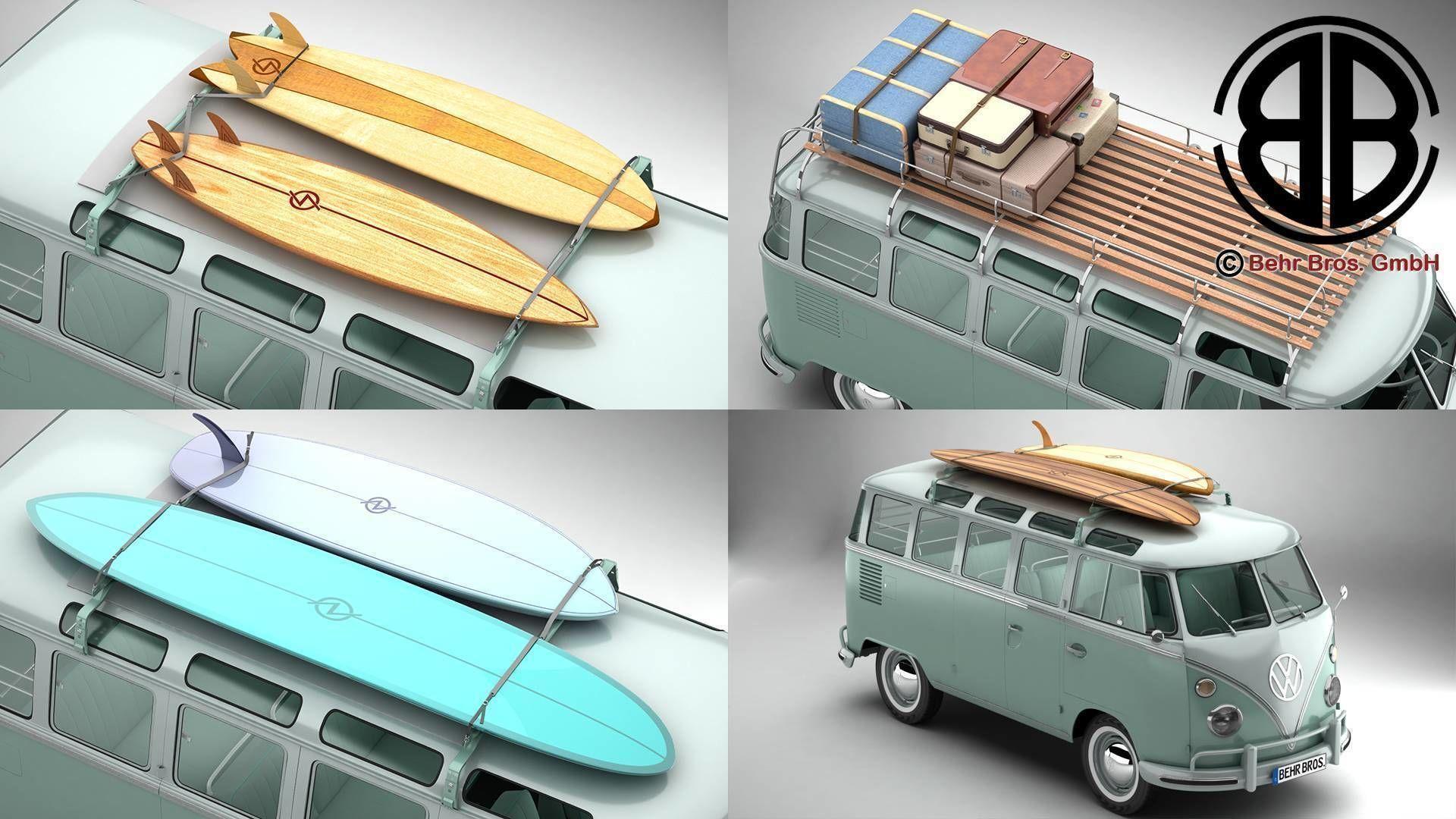 Volkswagen T1 Samba 1963 Accessories
