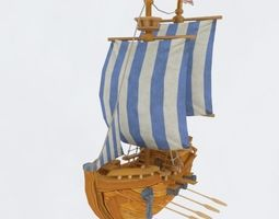 3D model ship5
