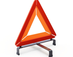 3D model Warning Triangle