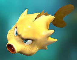animated 3DRT - Shooter Fish
