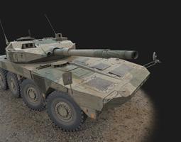 3D model Maneuver Combat Vehicle MCV